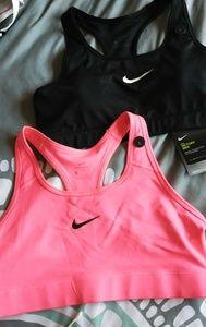 2 Nike Sports Bra's
